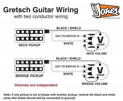 TV jones classic wiring problem | Gretsch-Talk Forum | Tv Jones Wiring Diagram |  | Gretsch-Talk