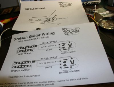 Enjoyable Changing The Tv Jones Wiring Harness W Pics Gretsch Talk Forum Wiring Cloud Hisonuggs Outletorg