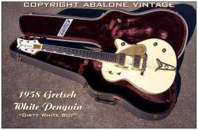 HOLY GRAIL 1958 1956 Gretsch White Penguin For Sale WTF