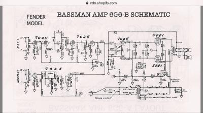 Coupling cap and filter cap values in 6g6b circuit