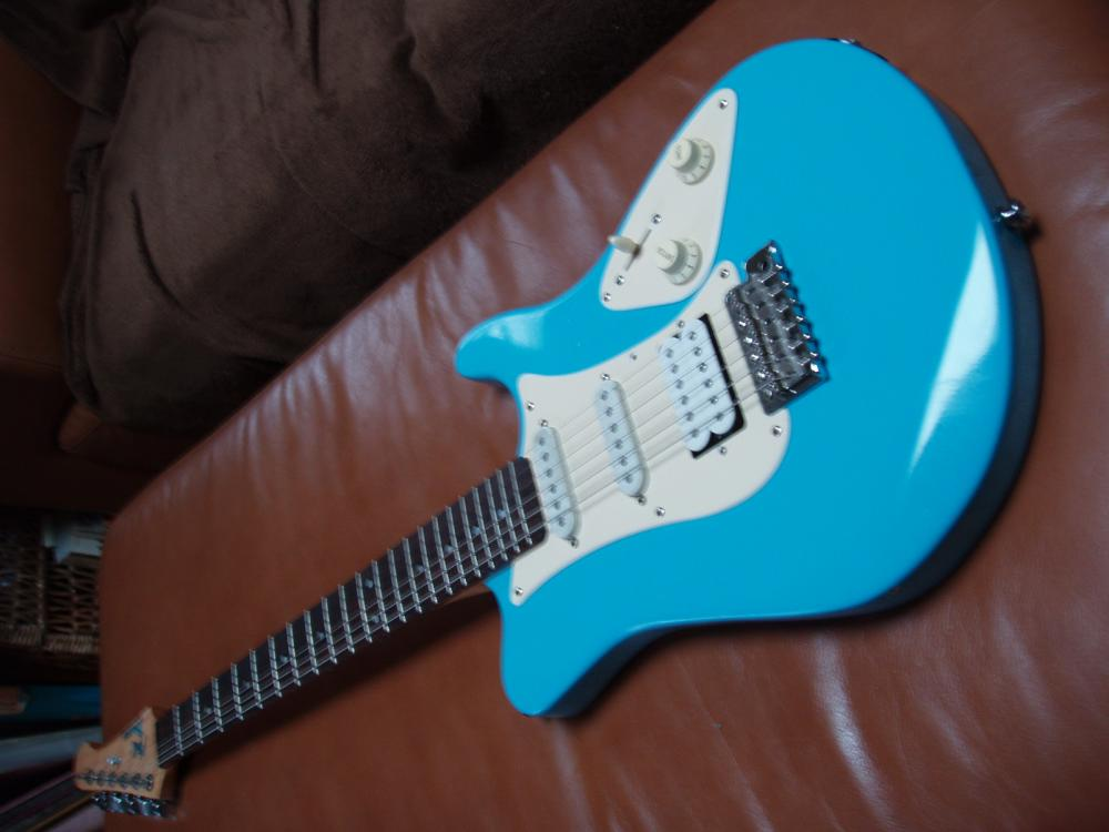 pimped yamaha pacifica new body shape new pickguard shape seymour new body shape new pickguard shape seymour duncan