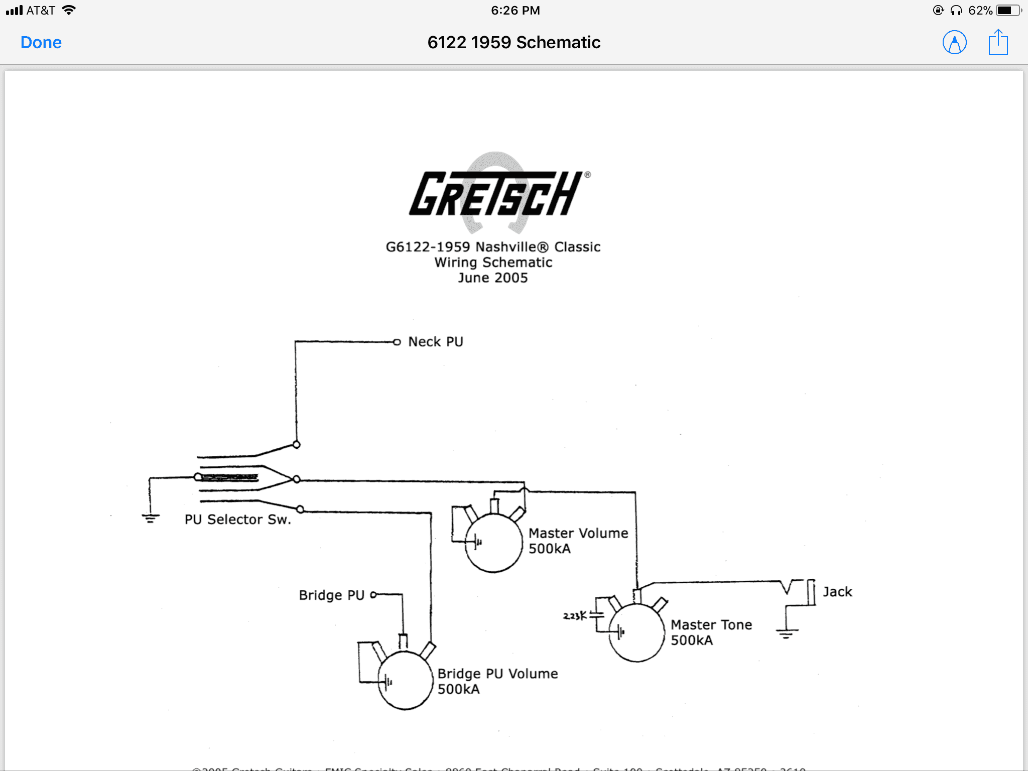 Gretsch 6122 Wiring Diagram